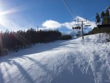 View from the lift