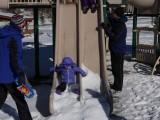 Sliding into Snow