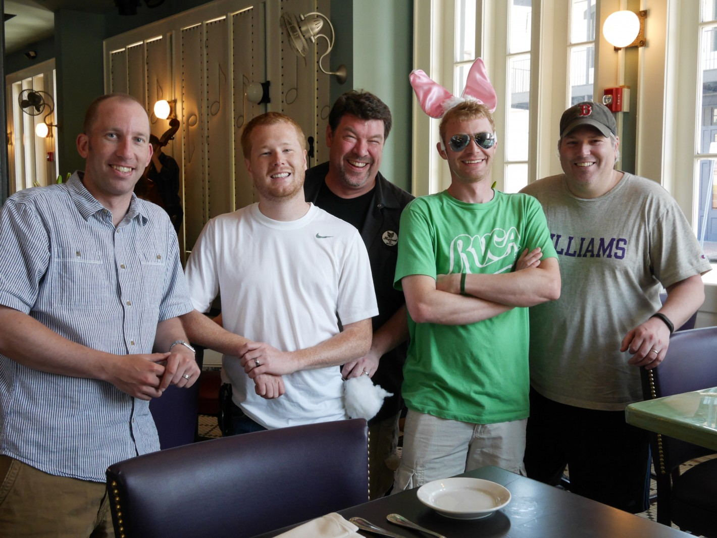 Me, Devin, Joe, Corey and Steve